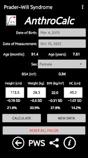AnthroCalc v2.07.3 screenshots 7