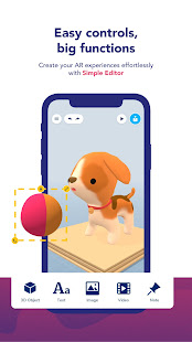 Assemblr – Make 3D Images amp Text Show in AR v3.402 screenshots 2