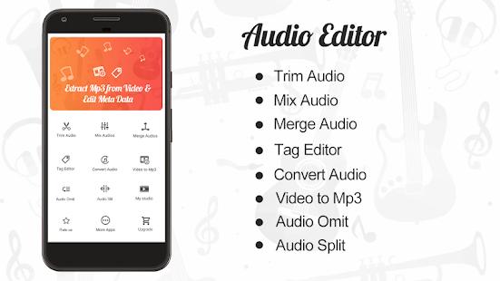 Audio Editor CutMergeMix Extract Convert Audio v1.22 screenshots 1