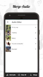 Audio Editor CutMergeMix Extract Convert Audio v1.22 screenshots 3