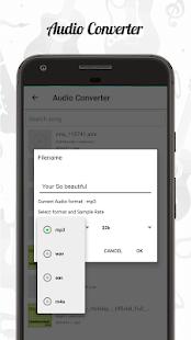 Audio Editor CutMergeMix Extract Convert Audio v1.22 screenshots 5