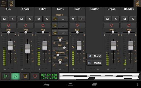 Audio Evolution Mobile Studio TRIAL v5.0.8.7 screenshots 10
