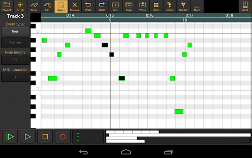 Audio Evolution Mobile Studio TRIAL v5.0.8.7 screenshots 12