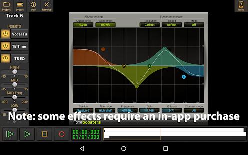 Audio Evolution Mobile Studio TRIAL v5.0.8.7 screenshots 15