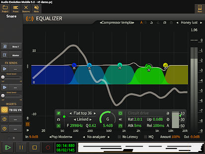 Audio Evolution Mobile Studio TRIAL v5.0.8.7 screenshots 16