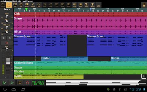 Audio Evolution Mobile Studio TRIAL v5.0.8.7 screenshots 17