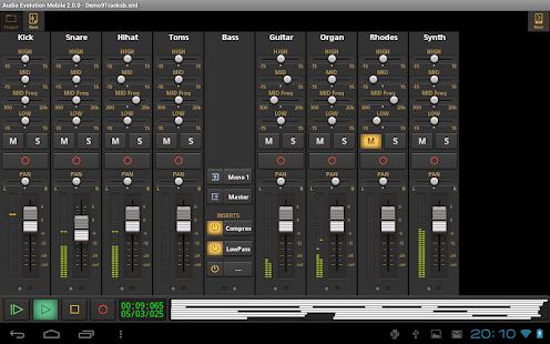 Audio Evolution Mobile Studio TRIAL v5.0.8.7 screenshots 18