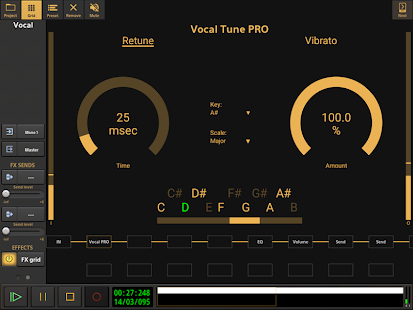 Audio Evolution Mobile Studio TRIAL v5.0.8.7 screenshots 22
