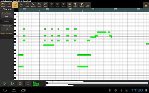 Audio Evolution Mobile Studio TRIAL v5.0.8.7 screenshots 23