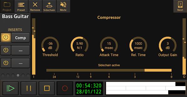 Audio Evolution Mobile Studio TRIAL v5.0.8.7 screenshots 3