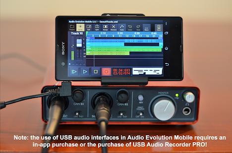 Audio Evolution Mobile Studio TRIAL v5.0.8.7 screenshots 4