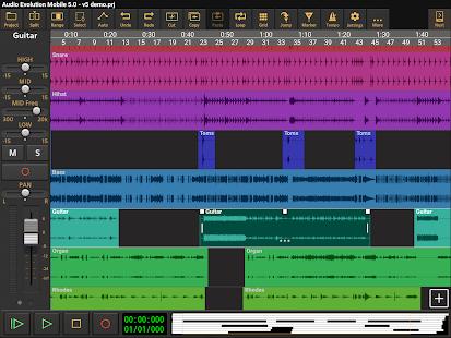 Audio Evolution Mobile Studio TRIAL v5.0.8.7 screenshots 9