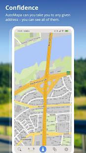 AutoMapa – GPS navigation CB Radio radars v6.4.2 3941 screenshots 4