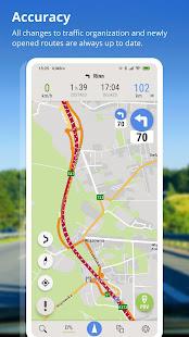AutoMapa – GPS navigation CB Radio radars v6.4.2 3941 screenshots 6