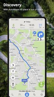 AutoMapa – GPS navigation CB Radio radars v6.4.2 3941 screenshots 7