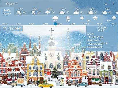 Awesome weather YoWindow live weather wallpaper v2.28.2 screenshots 10