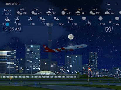 Awesome weather YoWindow live weather wallpaper v2.28.2 screenshots 11