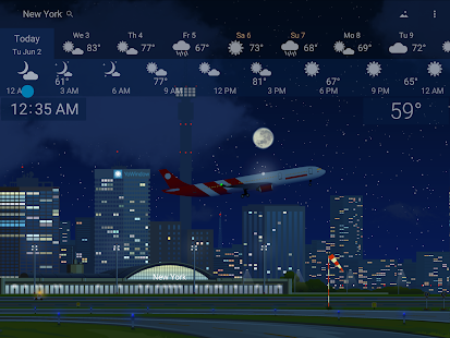 Awesome weather YoWindow live weather wallpaper v2.28.2 screenshots 17