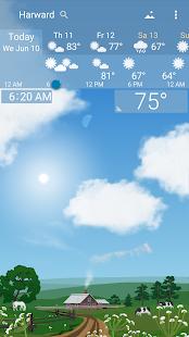 Awesome weather YoWindow live weather wallpaper v2.28.2 screenshots 2