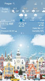 Awesome weather YoWindow live weather wallpaper v2.28.2 screenshots 4