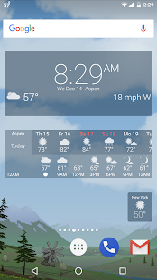 Awesome weather YoWindow live weather wallpaper v2.28.2 screenshots 5