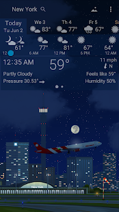 Awesome weather YoWindow live weather wallpaper v2.28.2 screenshots 6