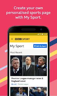 BBC Sport v1.42.0.9620 screenshots 2