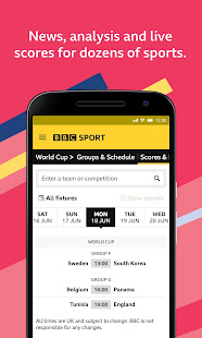 BBC Sport v1.42.0.9620 screenshots 3