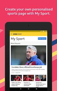 BBC Sport v1.42.0.9620 screenshots 7