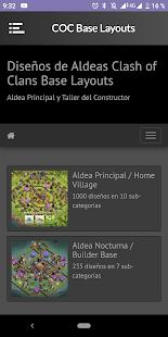 Base Layouts for COC v1.2 screenshots 2
