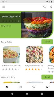 Best Salad Cookbook – free salad recipes v5.01 screenshots 1