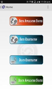 Birth amp Death Certificate v1.0 screenshots 1