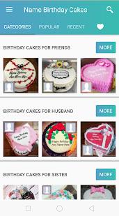 Birthday Cake With Name And Photo v1.2 screenshots 1