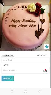 Birthday Cake With Name And Photo v1.2 screenshots 3
