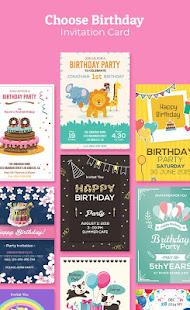 Birthday Invitation Maker Invitation Card Maker v1.0.7 screenshots 1