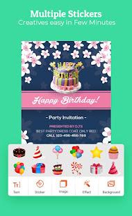 Birthday Invitation Maker Invitation Card Maker v1.0.7 screenshots 4
