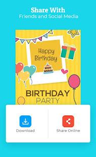 Birthday Invitation Maker Invitation Card Maker v1.0.7 screenshots 5