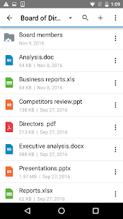 BlackBerry Workspaces v screenshots 3