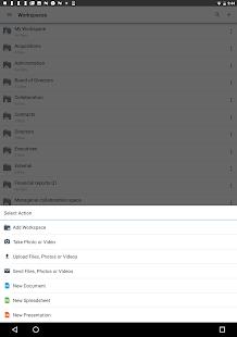 BlackBerry Workspaces v screenshots 8