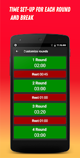 Boxing Interval Timer v3.2.2 screenshots 5