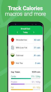 Calorie Counter – MyNetDiary Food Diary Tracker v7.7.5 screenshots 2