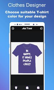 Clothes Designer T-shirt Design amp Clothes Maker v1.1.7 screenshots 3