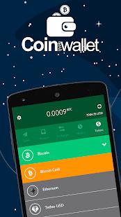 Coin Bitcoin Wallet v5.0.0 screenshots 1
