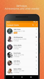 Contacts Birthdays v1.7.0 screenshots 1