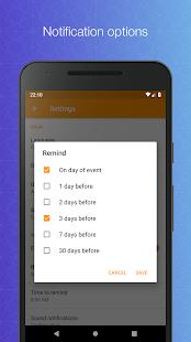 Contacts Birthdays v1.7.0 screenshots 4