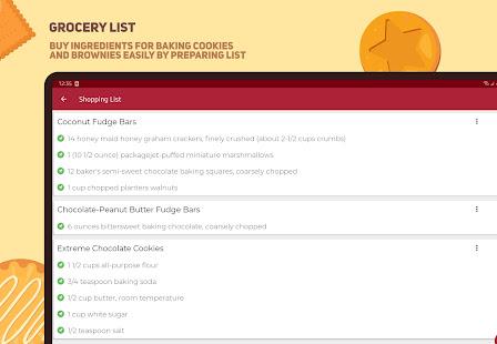Cookies and Brownies Recipes v28.0.0 screenshots 13