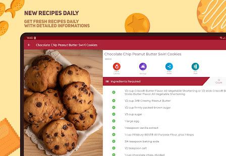 Cookies and Brownies Recipes v28.0.0 screenshots 17