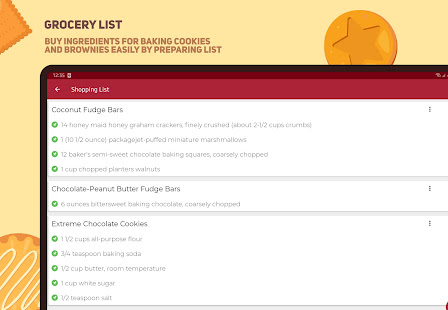 Cookies and Brownies Recipes v28.0.0 screenshots 21