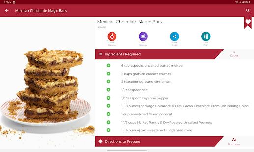 Cookies and Brownies Recipes v28.0.0 screenshots 22