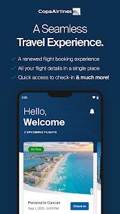 Copa Airlines v10.1.70 screenshots 1